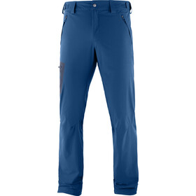 Salomon Wayfarer Straight Broek Heren, poseidon